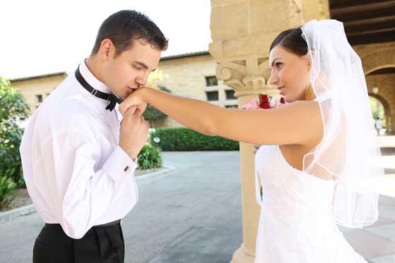 Счастливая пара - жених и невеста