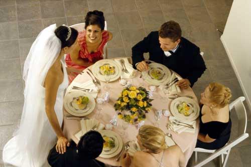 Правила этикета на свадебном банкете