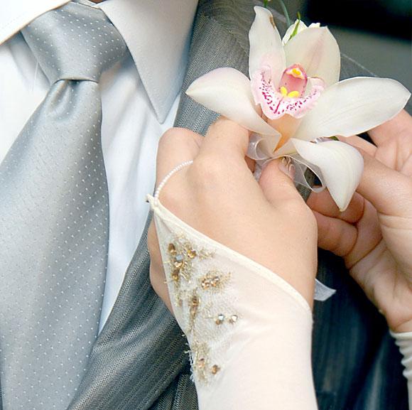 Украшения для гостей на свадьбе